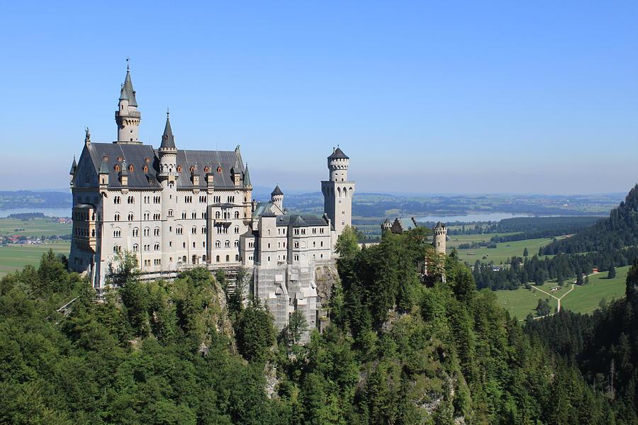 Castle Photograph - Neuschwastein Castle by Michael  Kenney