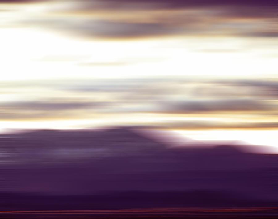 Mountains Photograph - Nevada Blur #2 by Rob Worx