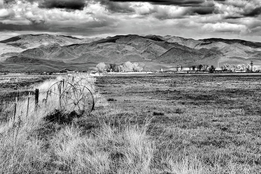 Nevada Desert Ranch Photograph