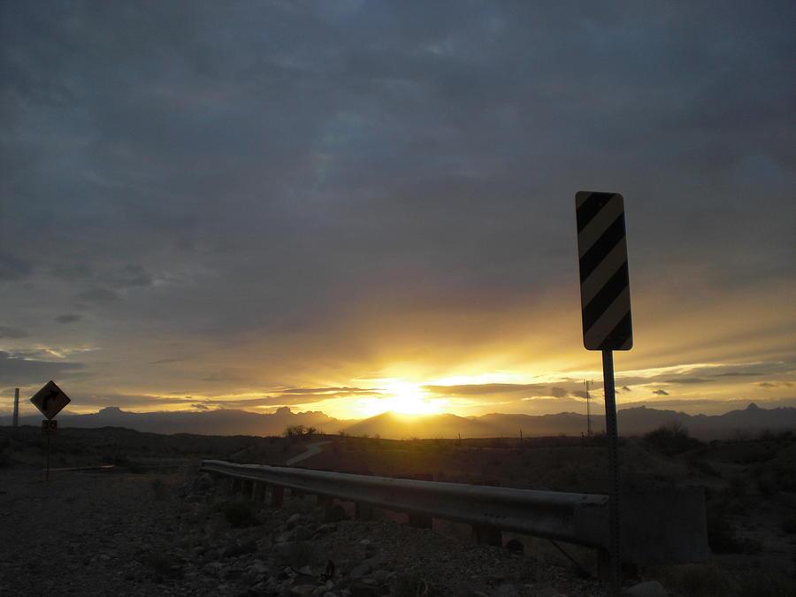 Nevada Landing Photograph by Roman Lezo