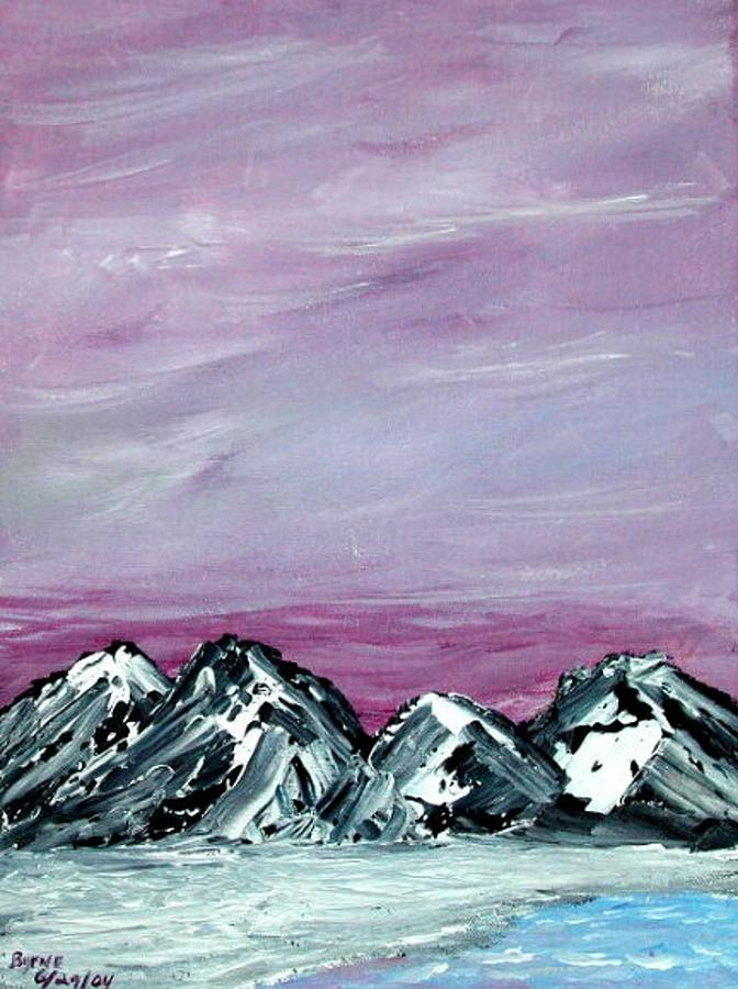 Landscape Painting - Nevada Sky by Margie  Byrne