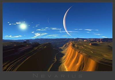 Alien Digital Art - Nevarius by Graham Conrad