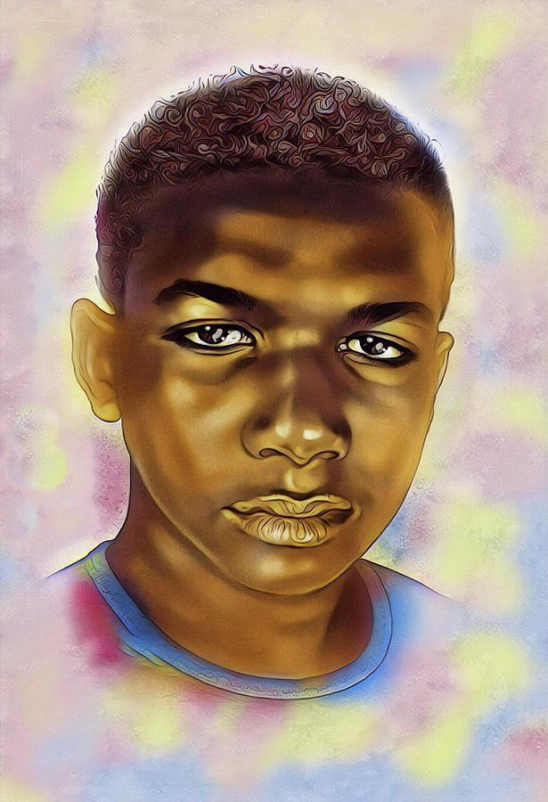 Jesus Digital Art - Never Forget Trayvon by Karen Showell