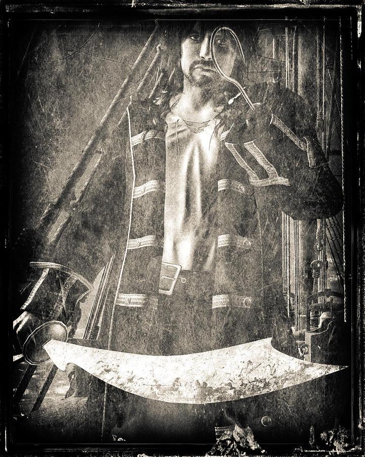 Hook Digital Art - Never Neverland Captain Hook by Bob Orsillo