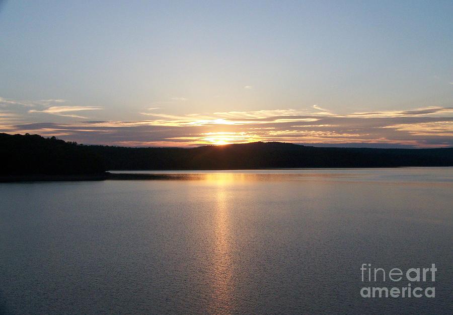 Neversink Reservoir Photograph - Neversink Reservoir At Sunset by Kevin Croitz