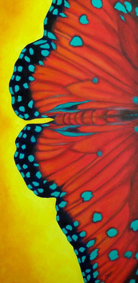 Nature Painting - New Beginnings by Susan DeLain