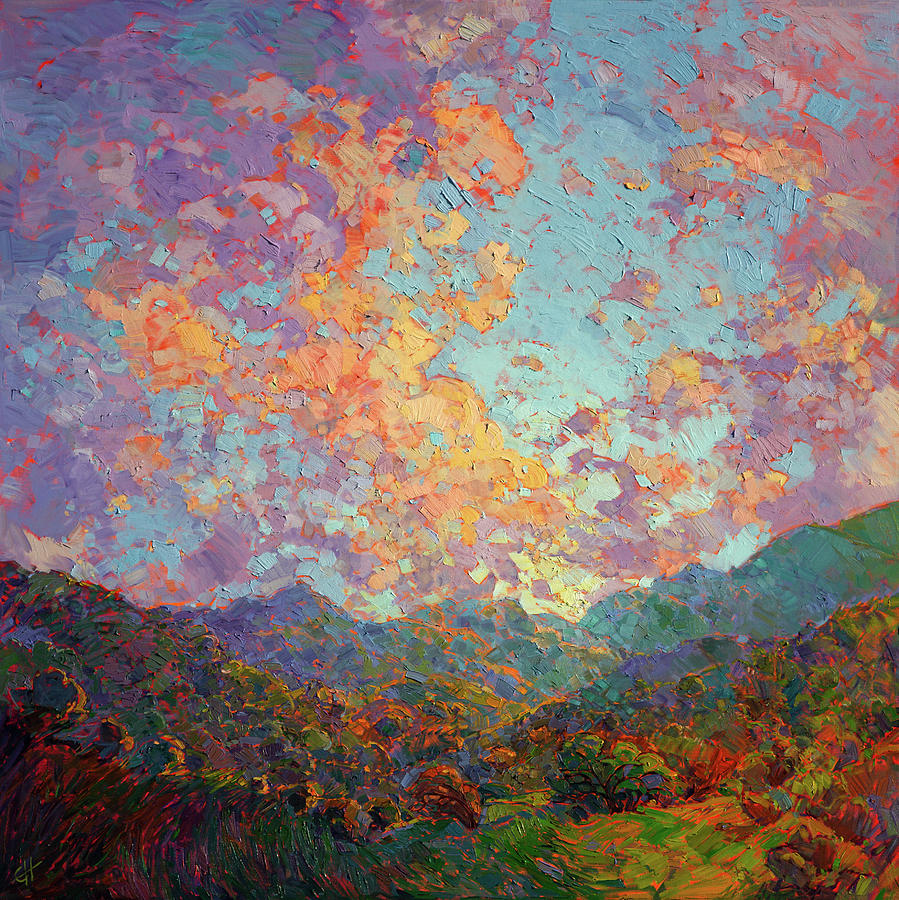New Dawn Painting By Erin Hanson