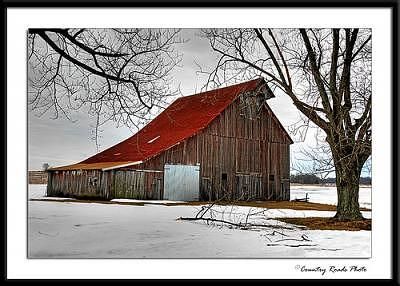 Barn Photograph - New Door by Lyle Canterbury