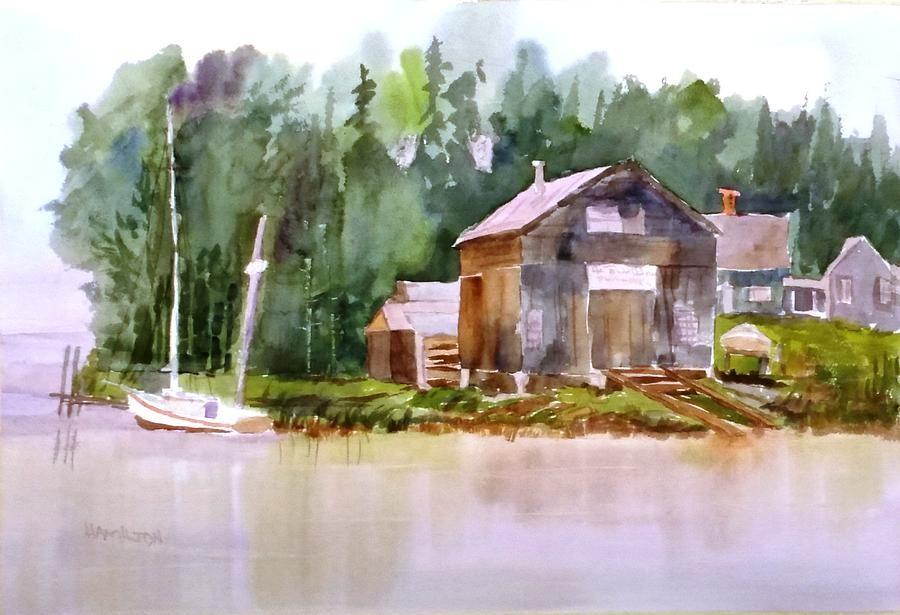 New England Boat Repair by Larry Hamilton