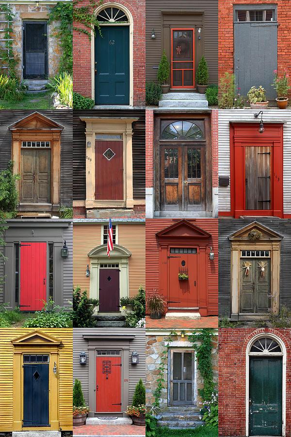 Attirant New England Photograph   New England Doors #2 By Brett Pelletier