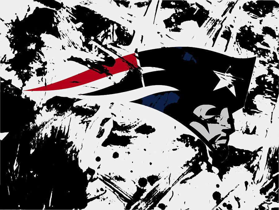 New England Patriots Mixed Media - New England Patriots 1e by Brian Reaves