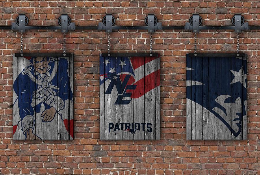 Patriots Wall Art new england patriots brick wall photographjoe hamilton
