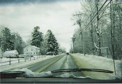 New England Snow Photograph by Carla Vigneau