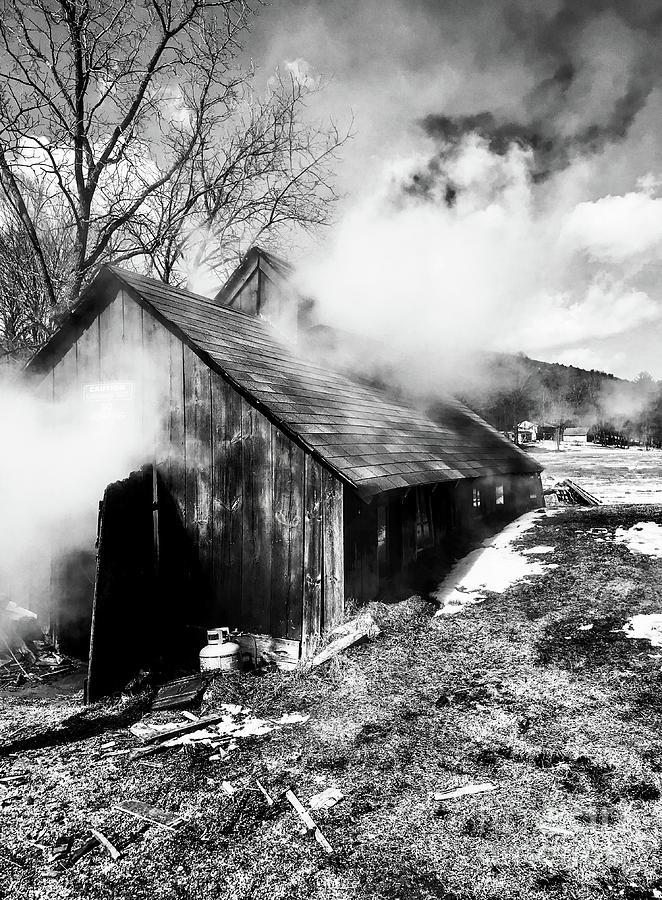 New England Sugar house Photograph by JMerrickMedia