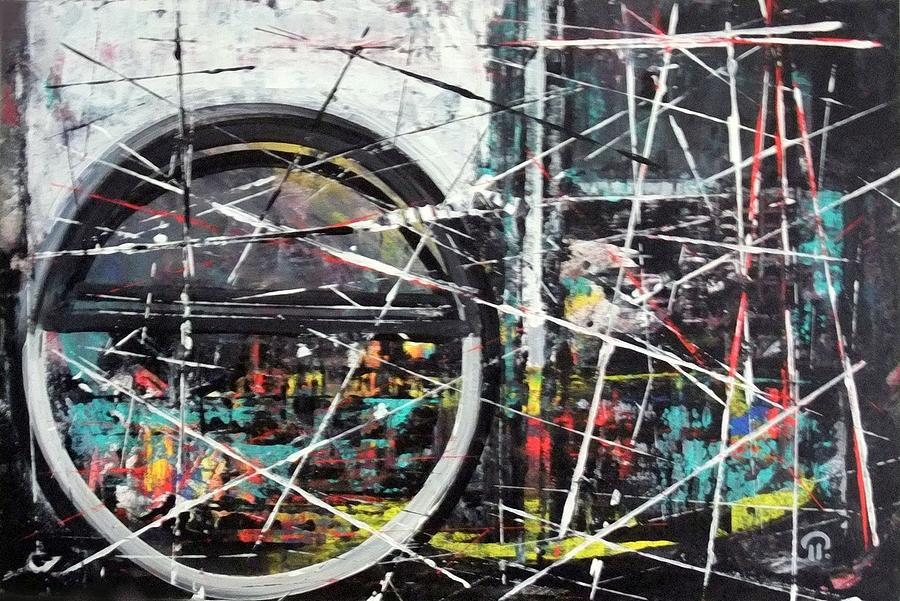 New Future. Painting by Paul Pulszartti