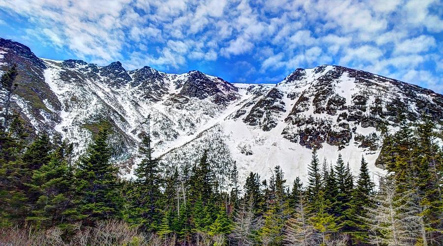 Mountains Photograph - New Hampshire Mountains by Holly Cyr