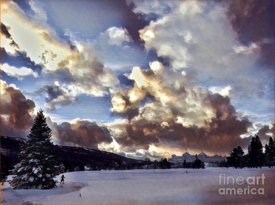 New Hampshire Sunset Digital Art