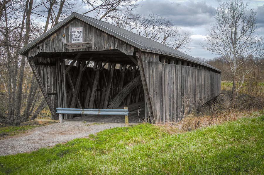 New Hope Covered Bridge Photograph