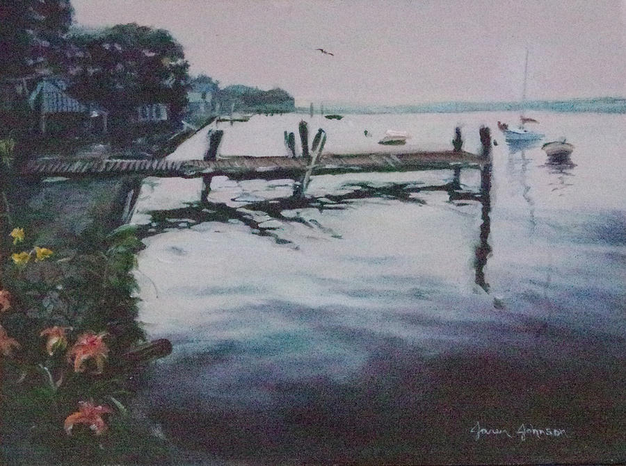 New Jersey Calm Painting by Jaren Johnson