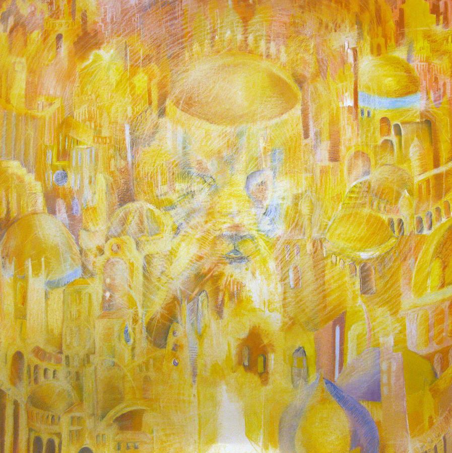 New Jerusalem Drawing - New Jerusalem by Beka Burns
