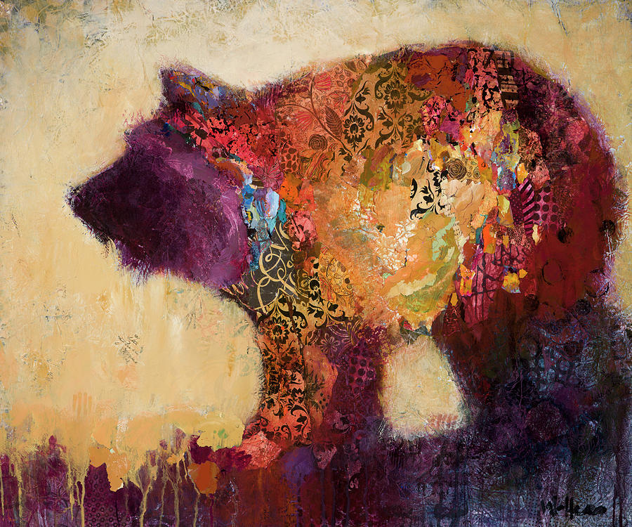 Bear Painting - New Life by Shelli Walters
