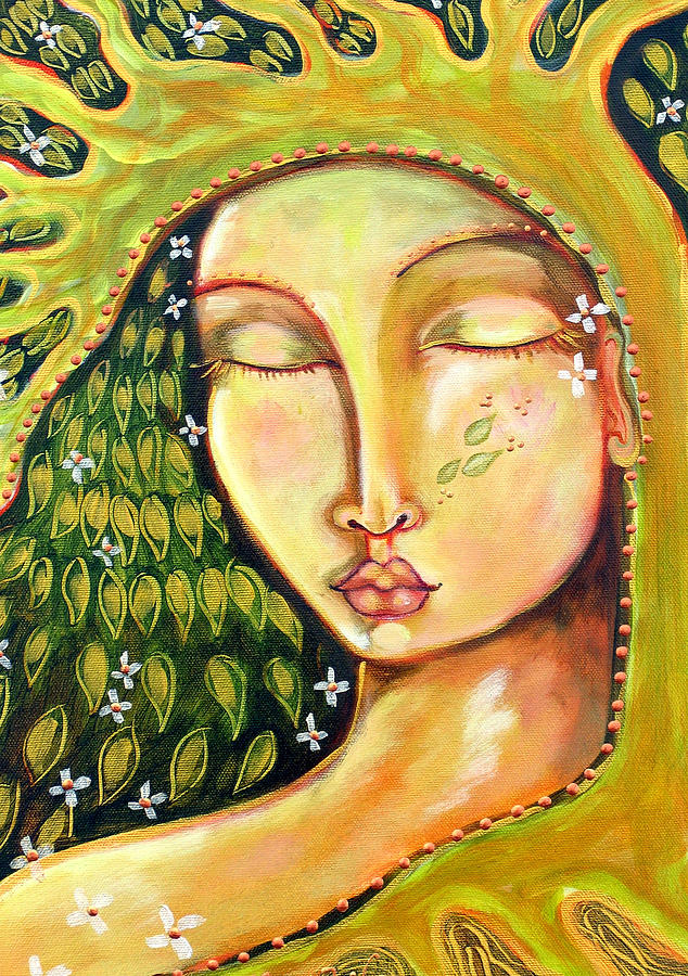 Tree Of Life Painting - New Life by Shiloh Sophia McCloud