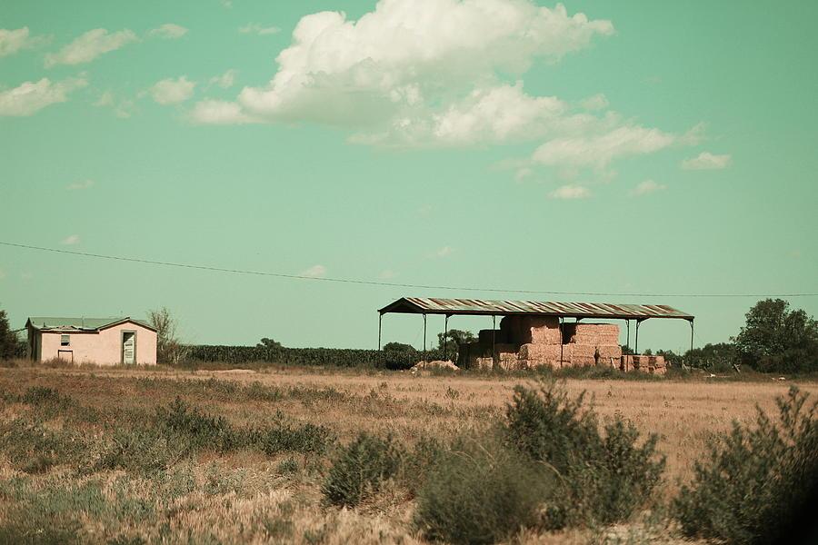 New Mexico Photograph - New Mexico Farmland in Technicolor by Colleen Cornelius
