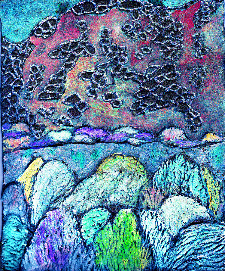 Landscape Painting - New Mexico Landscape by Wayne Potrafka
