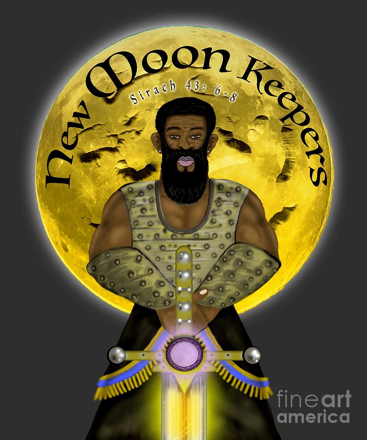 Israelite Painting - New Moon Keepers by Robert Watson