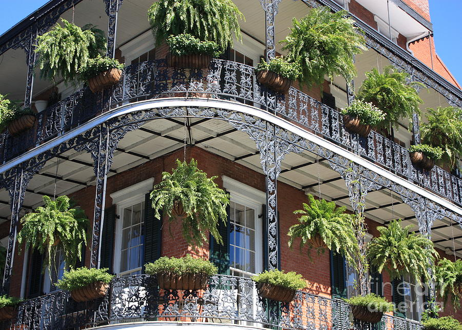 New Orleans Photograph - New Orleans Balcony by Carol Groenen