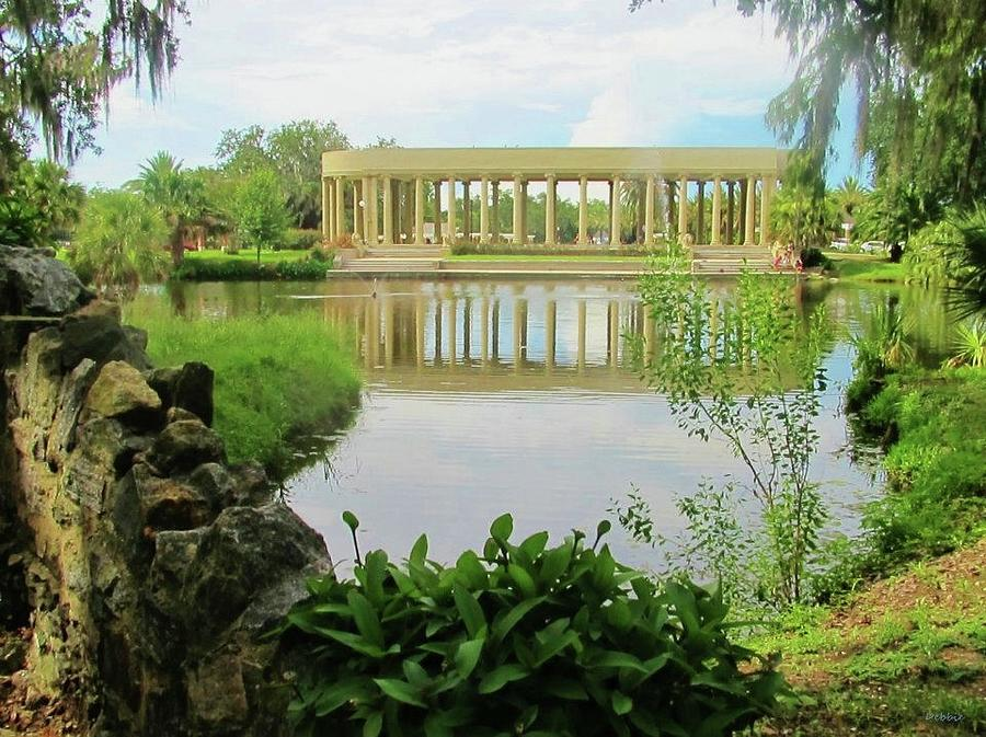 New Orleans City Park Peristyle From Goldfish Island