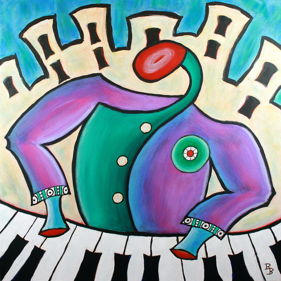 New Orleans Cool Jazz Piano by Bob Baker
