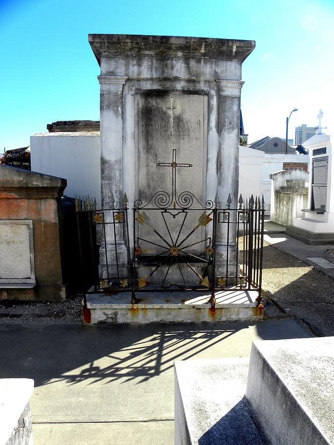 New Orleans Photograph - New Orleans Crypt 8 by Patricia Bigelow