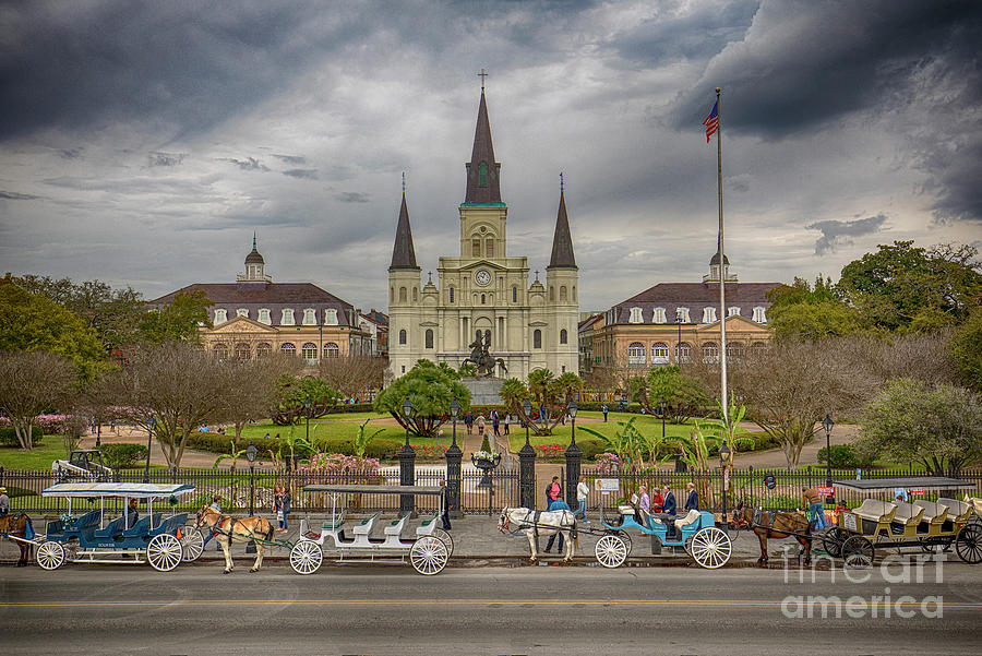 New Orleans Jackson Square by Ron Sadlier
