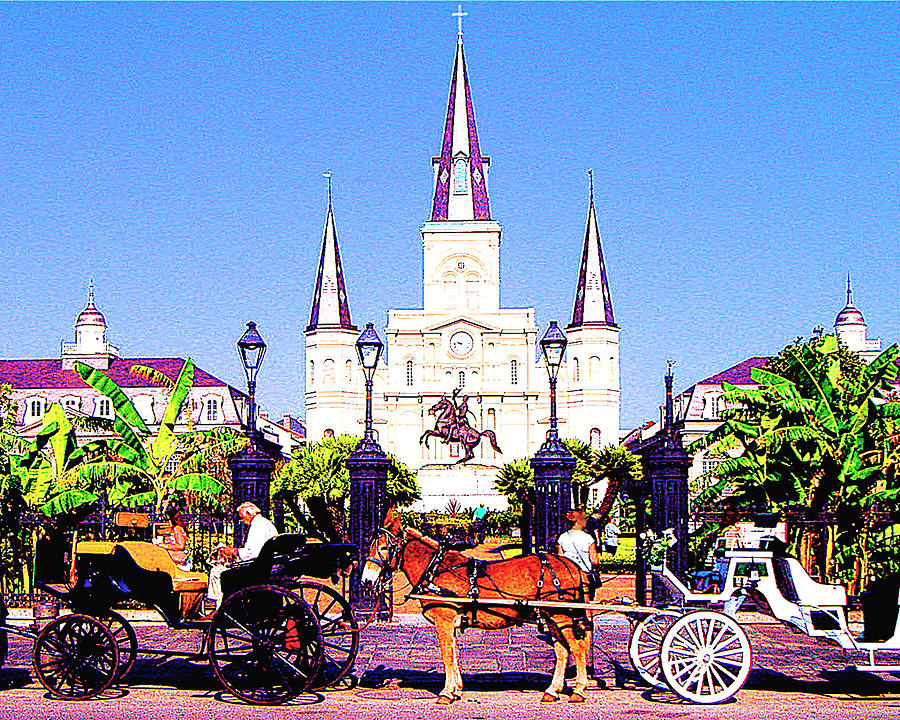 New Orleans Photograph - New Orleans by Jerome Stumphauzer