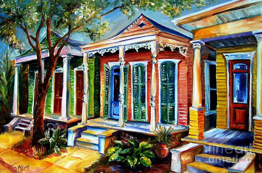 New Orleans Paintings Painting - New Orleans Plain And Fancy by Diane Millsap
