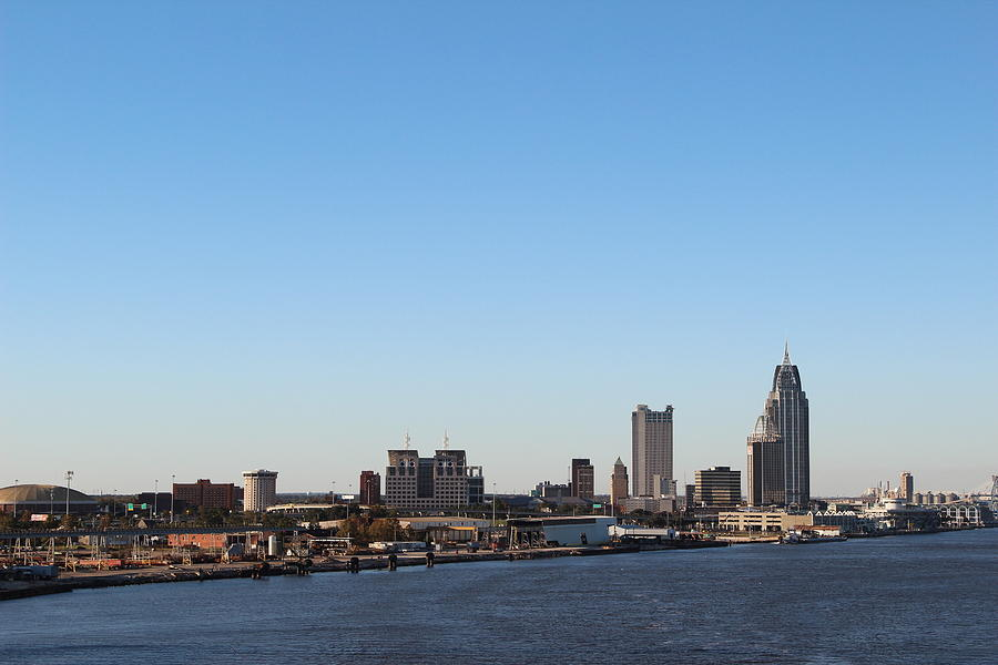 New Orleans Skyline Photograph - New Orleans Skyline by Robert Smith
