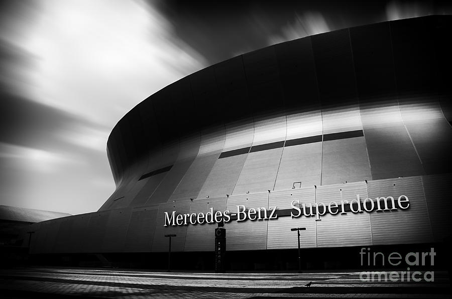 New Photograph - New Orleans Stadium by Alessandro Giorgi Art Photography
