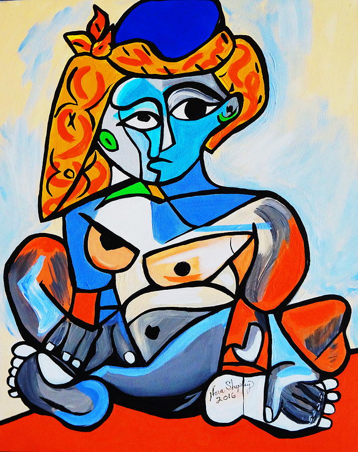 Blue Nude After Picasso Photograph By Joe Bonita