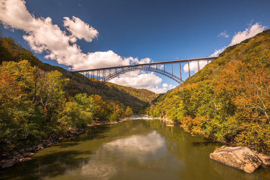 New River Gorge Bridge by Rick Dunnuck