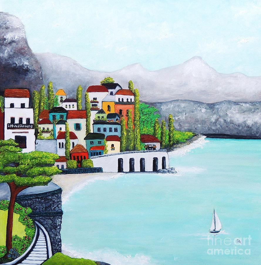 Voyage Painting - New Voyage  by Stephanie Callsen