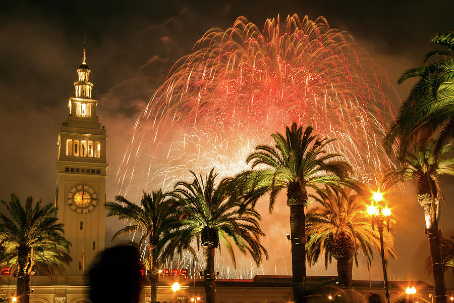 happy new year photograph new years fireworks finale san francisco by bonnie follett