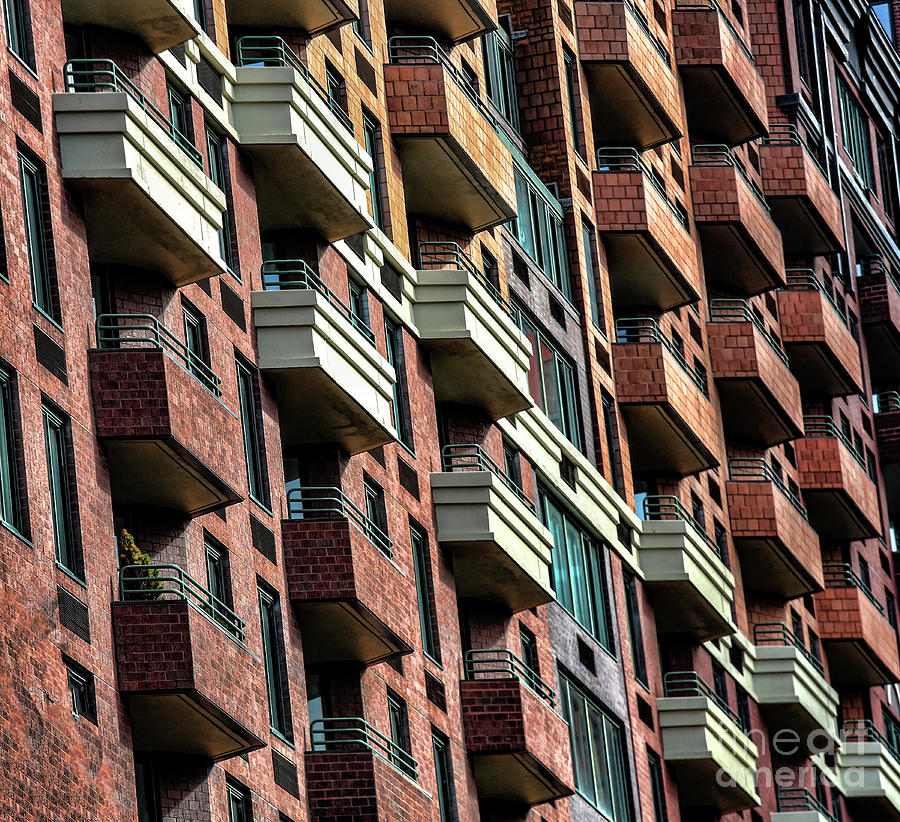 New York Photograph - New York Apartments  by Chuck Kuhn