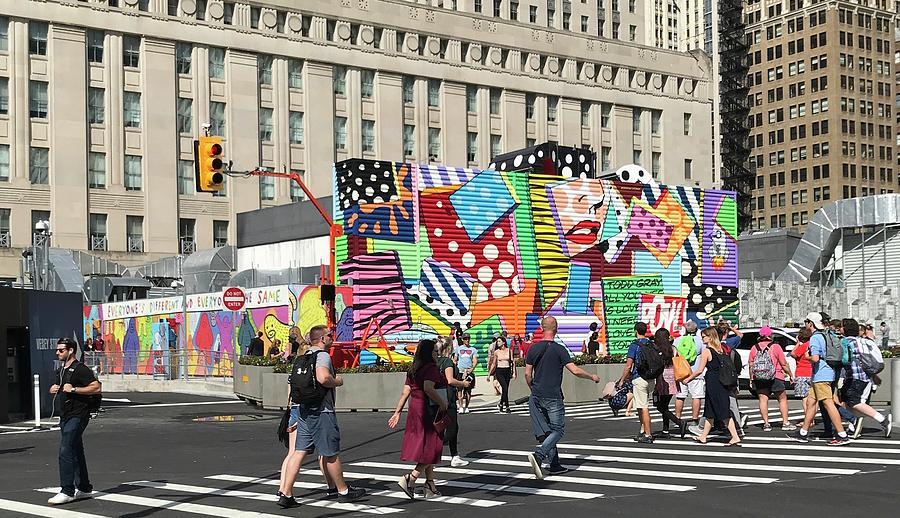 New York art on the street  by Liza Beckerman