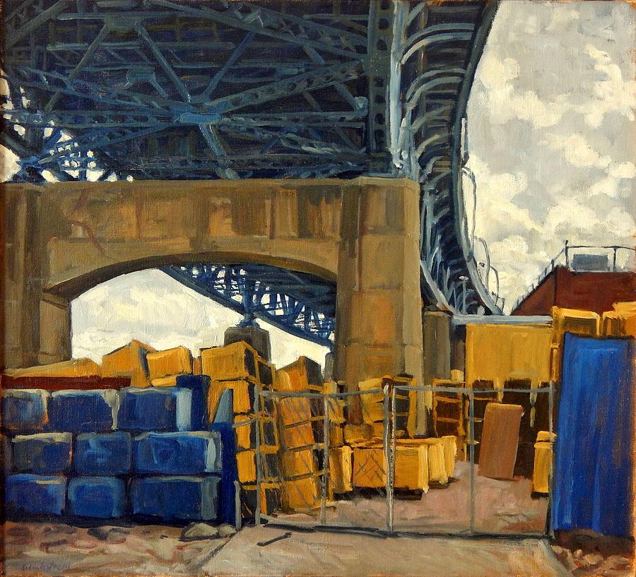 New York City Painting - New York Blue by Thor Wickstrom