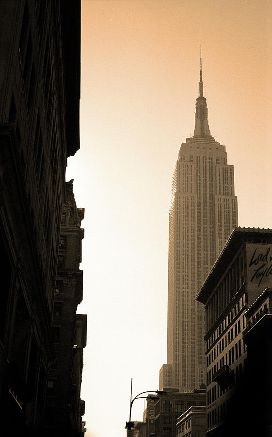 New York City 1982 Sepia Series - #5 by Frank Romeo