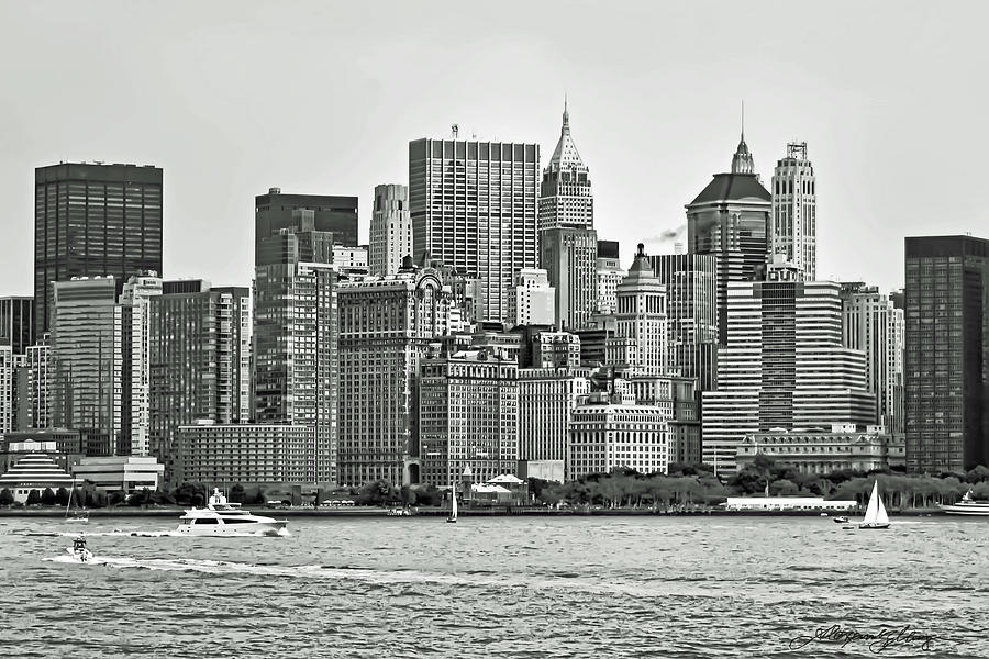 New York Photograph - New York City by Alexander Mendoza