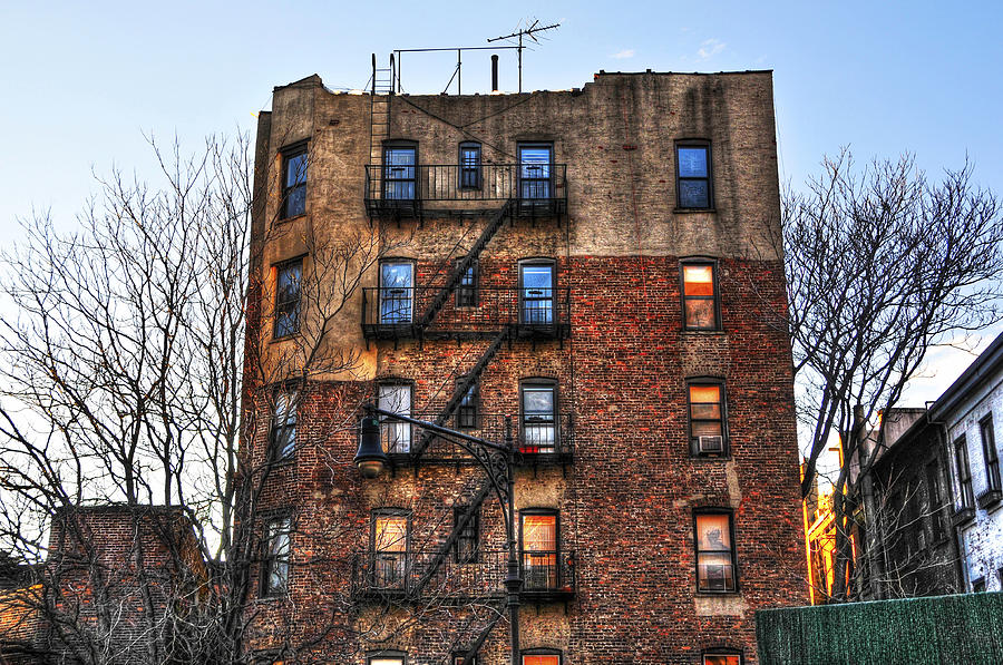 Buildings Photograph - New York City Apartments by Randy Aveille