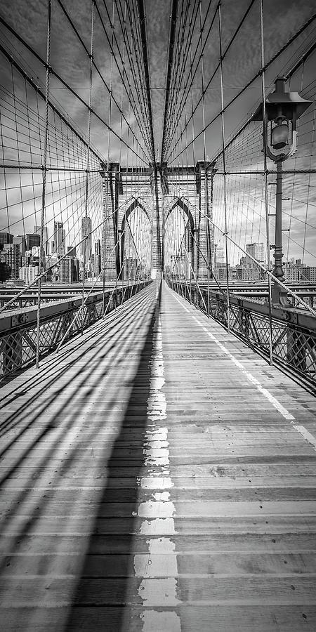NEW YORK CITY Brooklyn Bridge - Panorama by Melanie Viola
