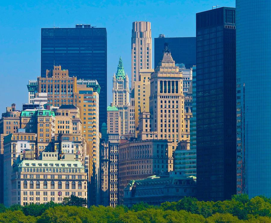 Nyc Photograph - New York City by Douglas J Fisher